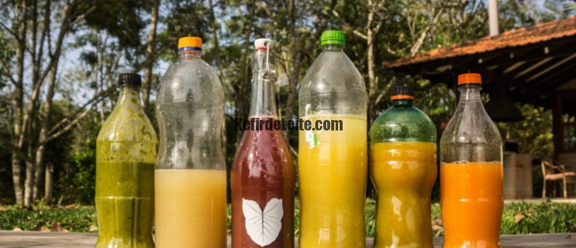 Refrigerante de Kefir de Água.